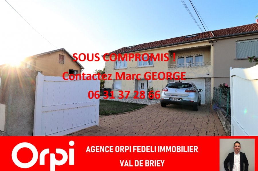 acheter maison 5 pièces 110 m² montois-la-montagne photo 1