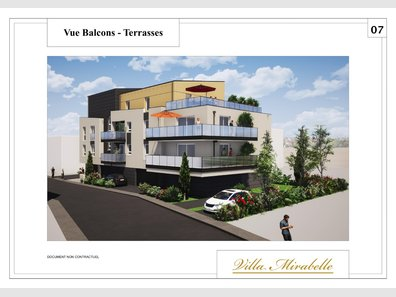 Appartement à vendre F3 à Longeville-lès-Metz - Réf. 6890120