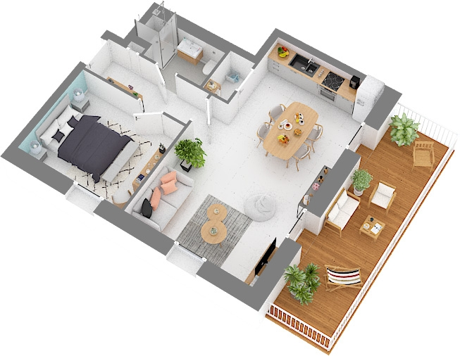 acheter appartement 1 chambre 55.8 m² hesperange photo 1