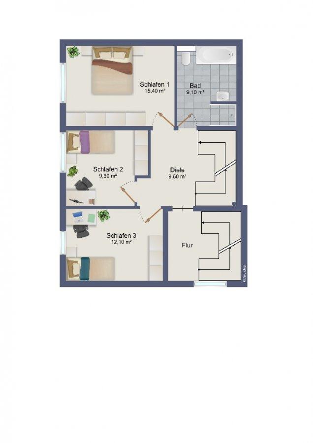 maisonette kaufen 4 zimmer 116.9 m² schweich foto 3