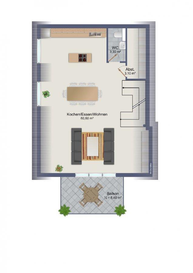 maisonette kaufen 4 zimmer 116.9 m² schweich foto 1