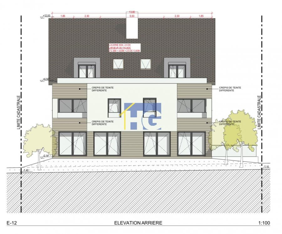 acheter duplex 4 chambres 141.24 m² hobscheid photo 7