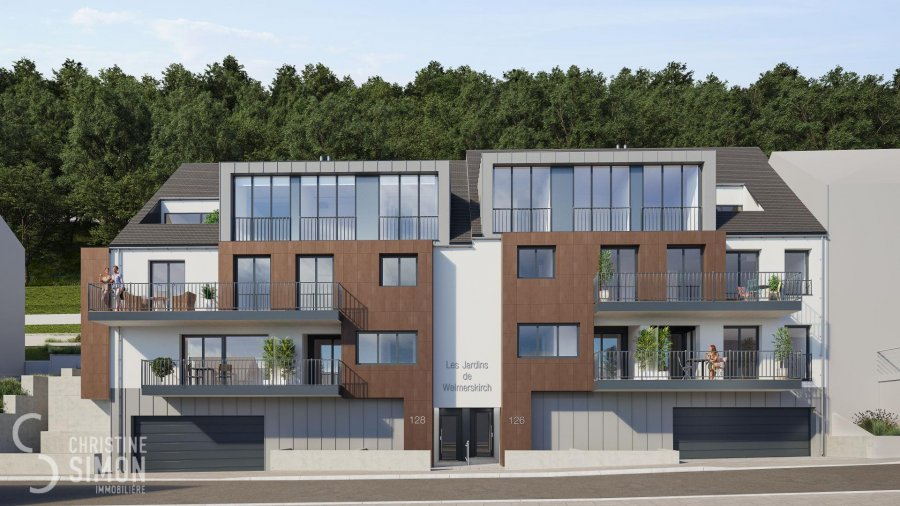Appartement à vendre 3 chambres à Luxembourg-Weimerskirch