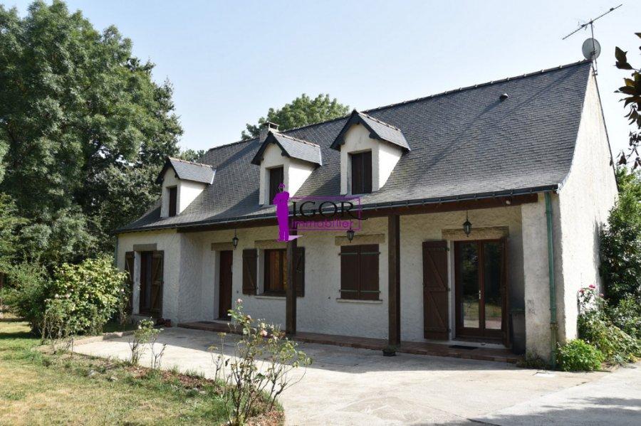 Maison à vendre F7 à La chapelle launay