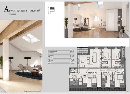 Apartment for sale 3 bedrooms in Mondercange (LU) - Ref. 7202728