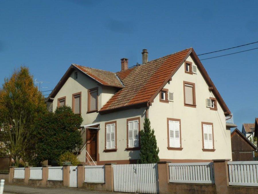 Maison à vendre F6 à Gundershoffen