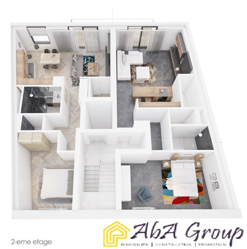 acheter appartement 1 chambre 57.44 m² luxembourg photo 1
