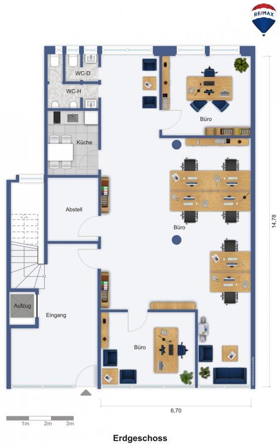 büro mieten 0 zimmer 160 m² saarbrücken foto 2
