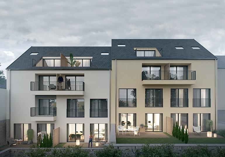acheter appartement 2 chambres 87.2 m² bertrange photo 1