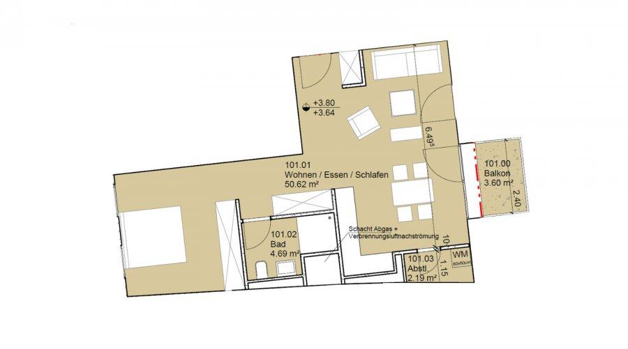 flat for buy 0 bedroom 57 m² echternach photo 2