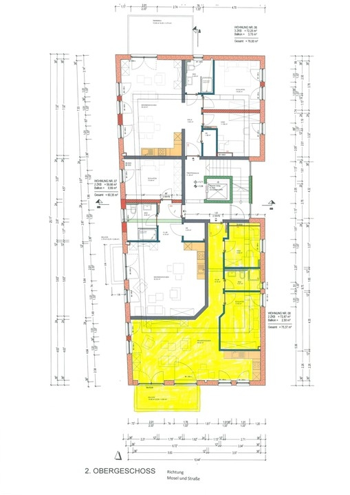wohnung mieten 3 zimmer 75.37 m² langsur foto 4