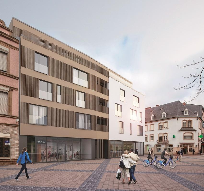 acheter appartement 1 chambre 74.82 m² ettelbruck photo 2