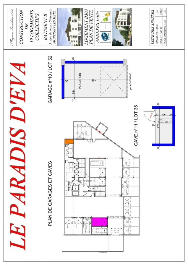 acheter appartement 3 pièces 66.41 m² montigny-lès-metz photo 4