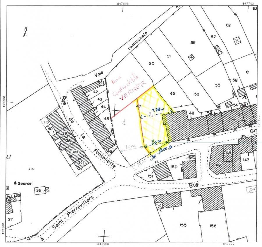 acheter terrain constructible 0 pièce 951 m² mercy-le-bas photo 2