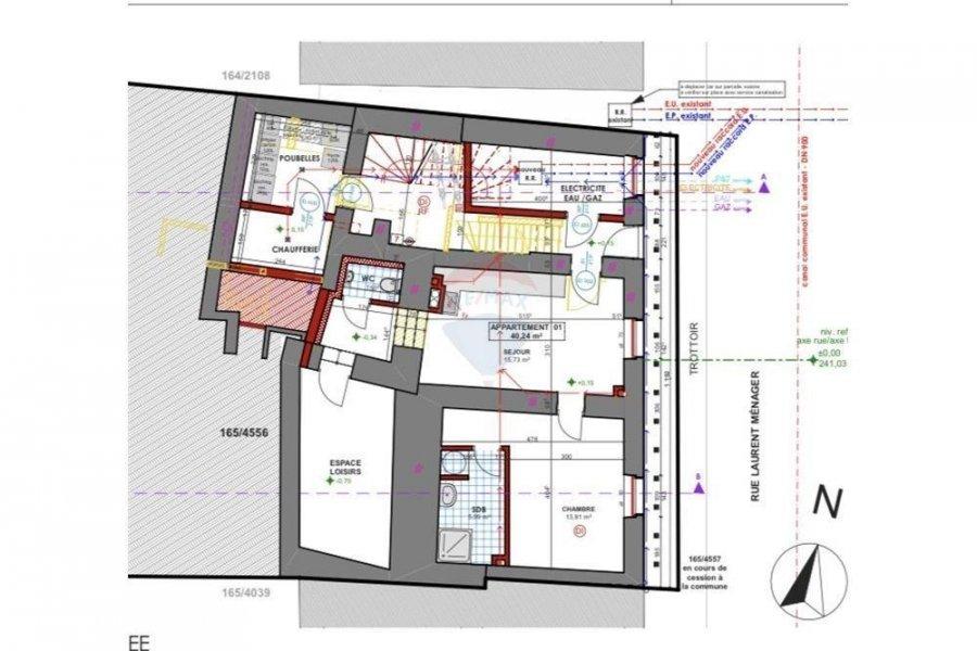 Appartement à vendre 1 chambre à Luxembourg-Pfaffenthal
