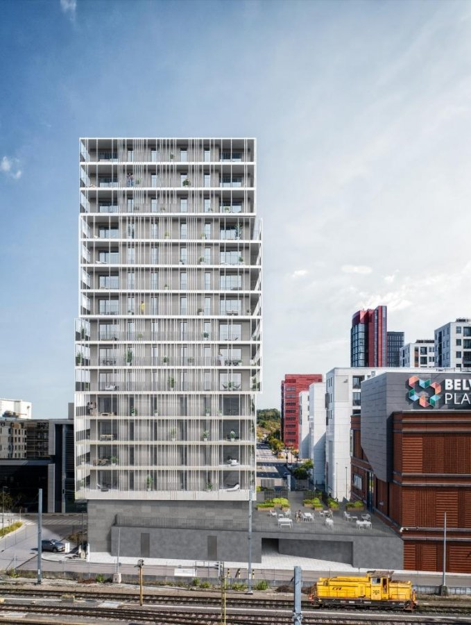 acheter appartement 1 chambre 58.68 m² belval photo 4