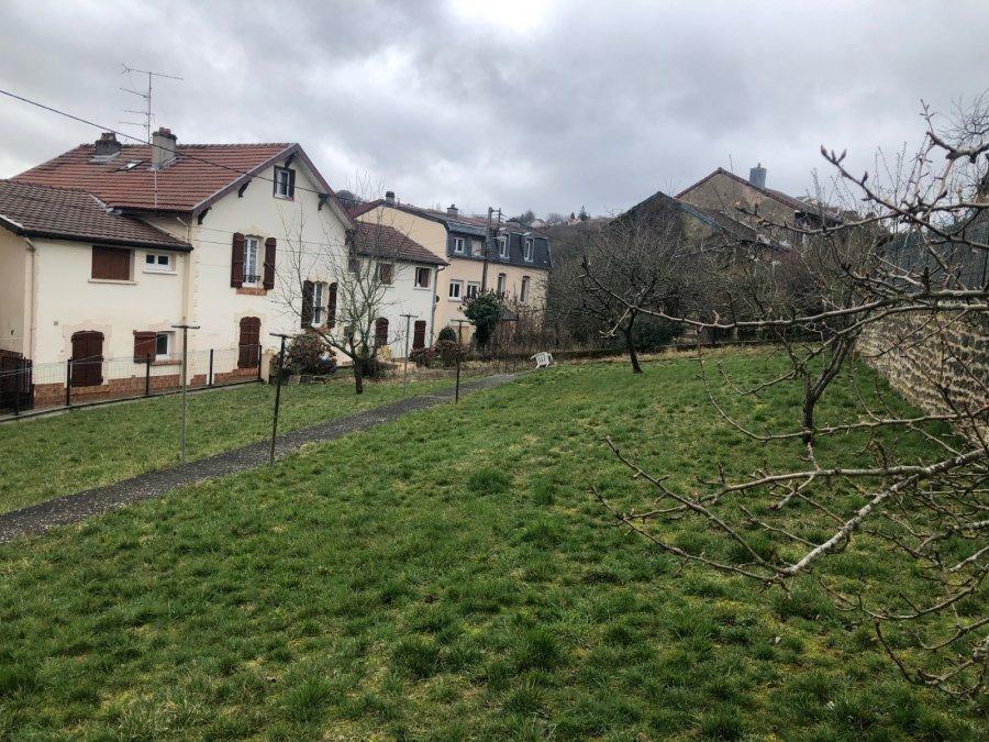 Terrain constructible à vendre à Mont-Saint-Martin
