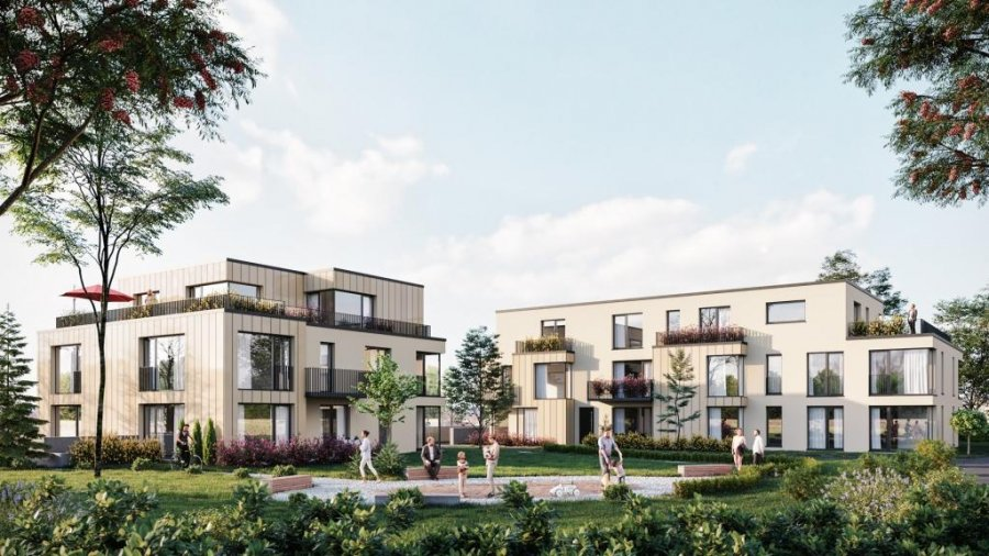 penthouse-wohnung kaufen 2 schlafzimmer 81.28 m² differdange foto 1