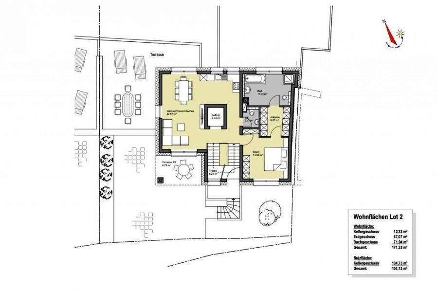 Maison individuelle à vendre 4 chambres à Berbourg