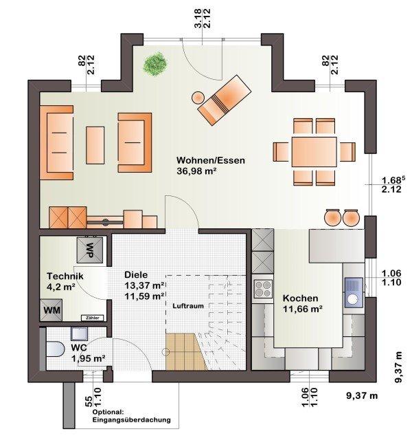 einfamilienhaus kaufen 3 schlafzimmer 125 m² echternach foto 3