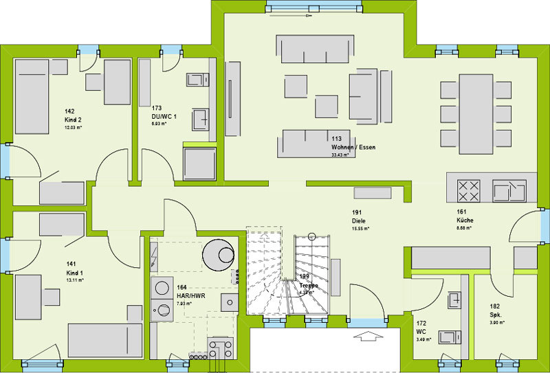villa kaufen 6 zimmer 192 m² merzig foto 3