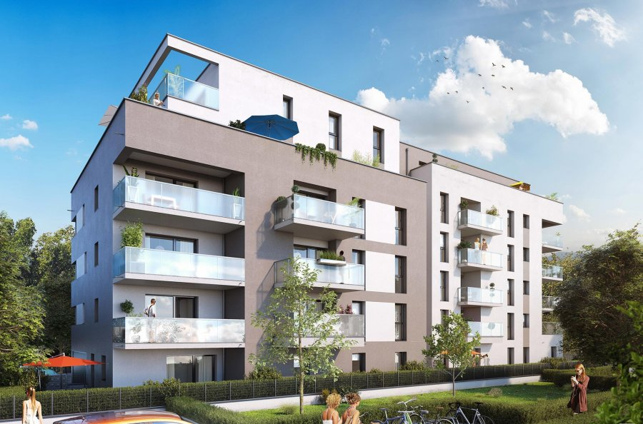 acheter appartement 2 pièces 43 m² saint-louis photo 1