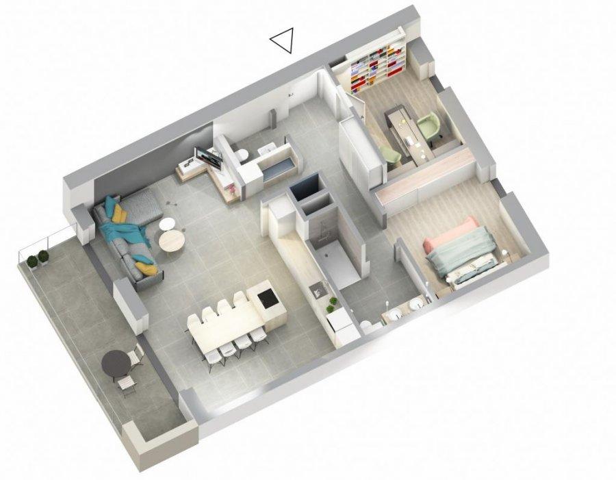 acheter appartement 1 chambre 86.66 m² ettelbruck photo 5