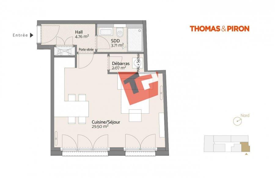acheter studio 0 chambre 41.27 m² luxembourg photo 3