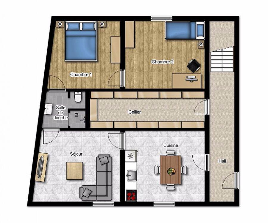 louer appartement 3 pièces 58.31 m² villerupt photo 6