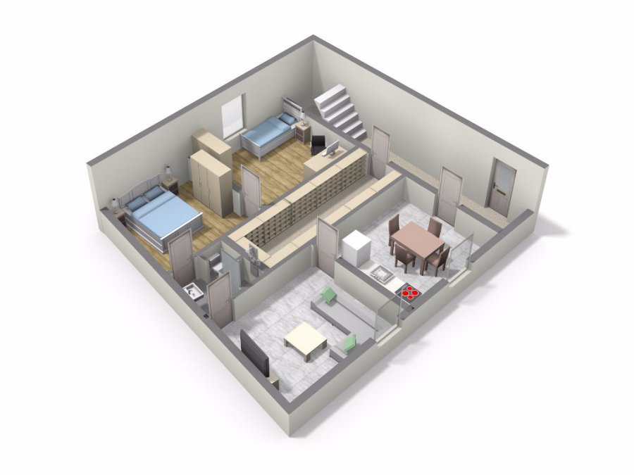 louer appartement 3 pièces 58.31 m² villerupt photo 7