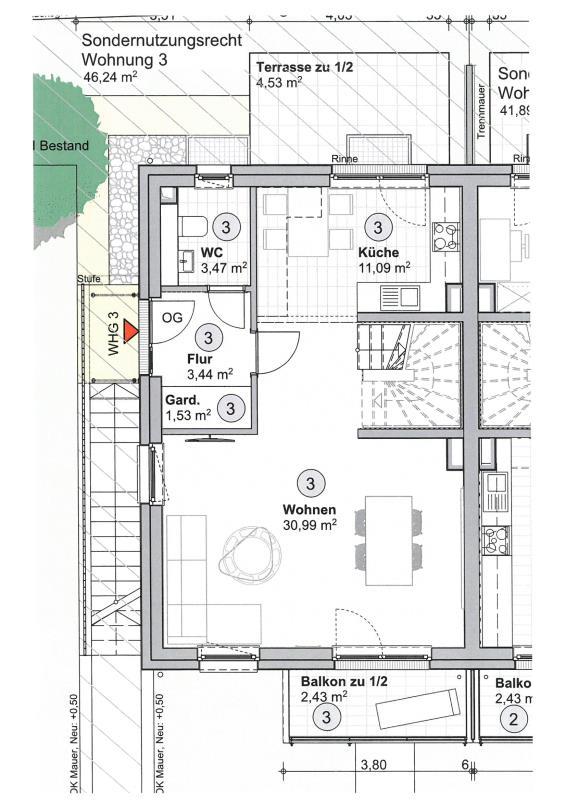 doppelhaushälfte kaufen 3 zimmer 106.63 m² trier foto 5