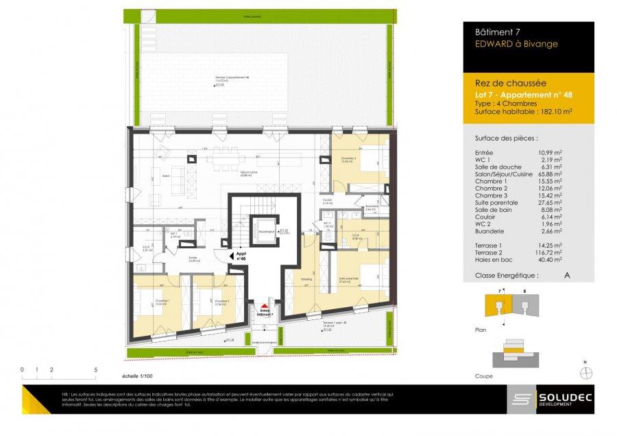 wohnung kaufen 4 schlafzimmer 183.62 m² berchem foto 1