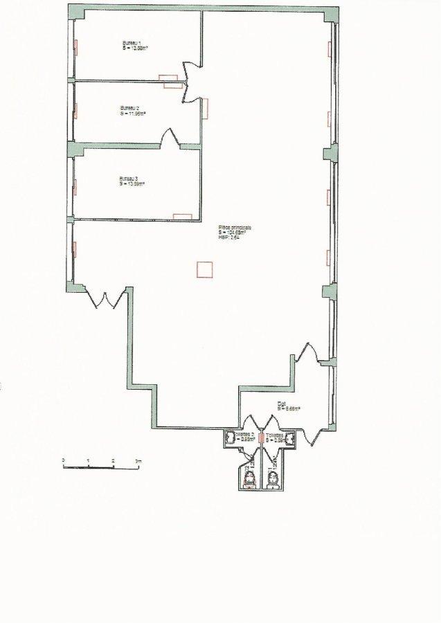 Bureau à louer à Nancy-Haussonville - Blandan - Donop