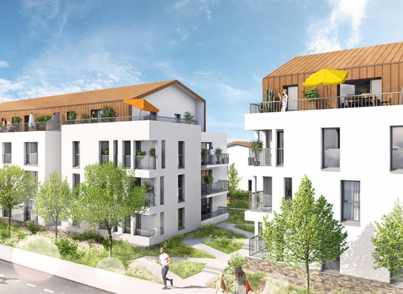 acheter appartement 2 pièces 45.2 m² couëron photo 1
