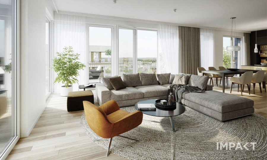 acheter appartement 1 chambre 49.81 m² luxembourg photo 3