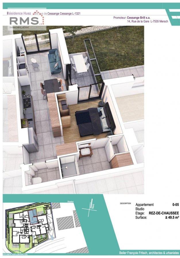acheter studio 0 chambre 49.32 m² luxembourg photo 5