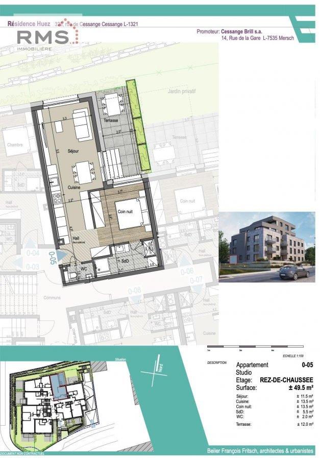 acheter studio 0 chambre 49.32 m² luxembourg photo 7