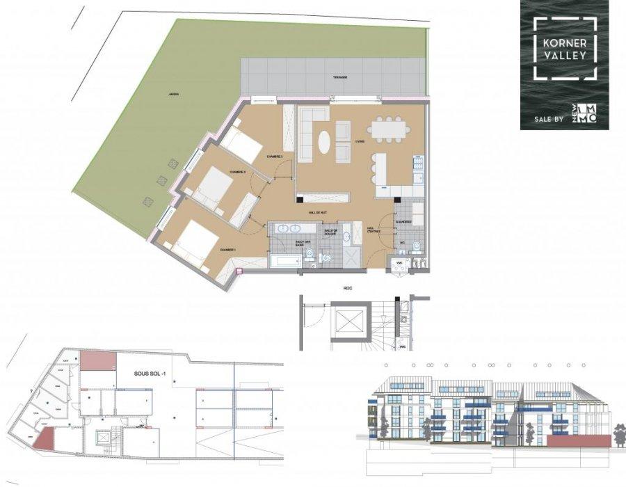 wohnung kaufen 3 schlafzimmer 105.36 m² luxembourg foto 4