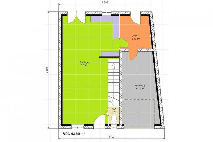 acheter maison 5 pièces 103 m² audun-le-tiche photo 2