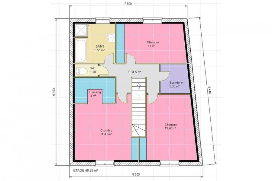 acheter maison 5 pièces 103 m² audun-le-tiche photo 3