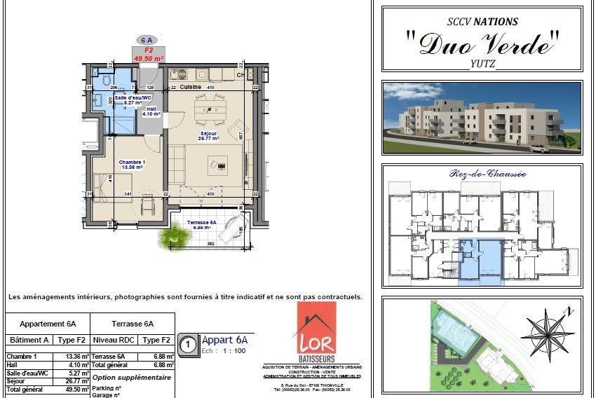 acheter appartement 2 pièces 49.5 m² yutz photo 2