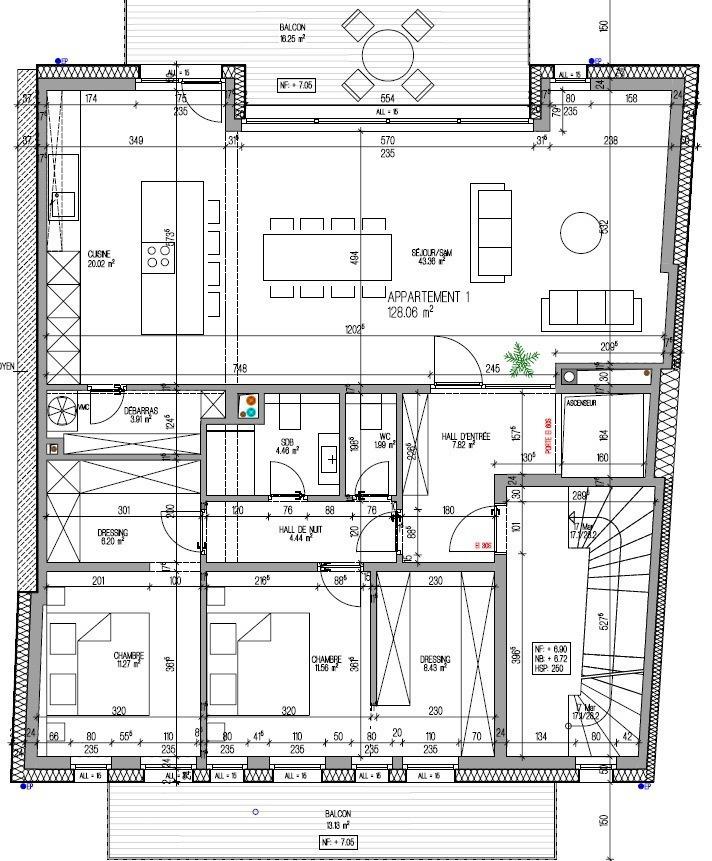 acheter appartement 3 chambres 142.88 m² kayl photo 3