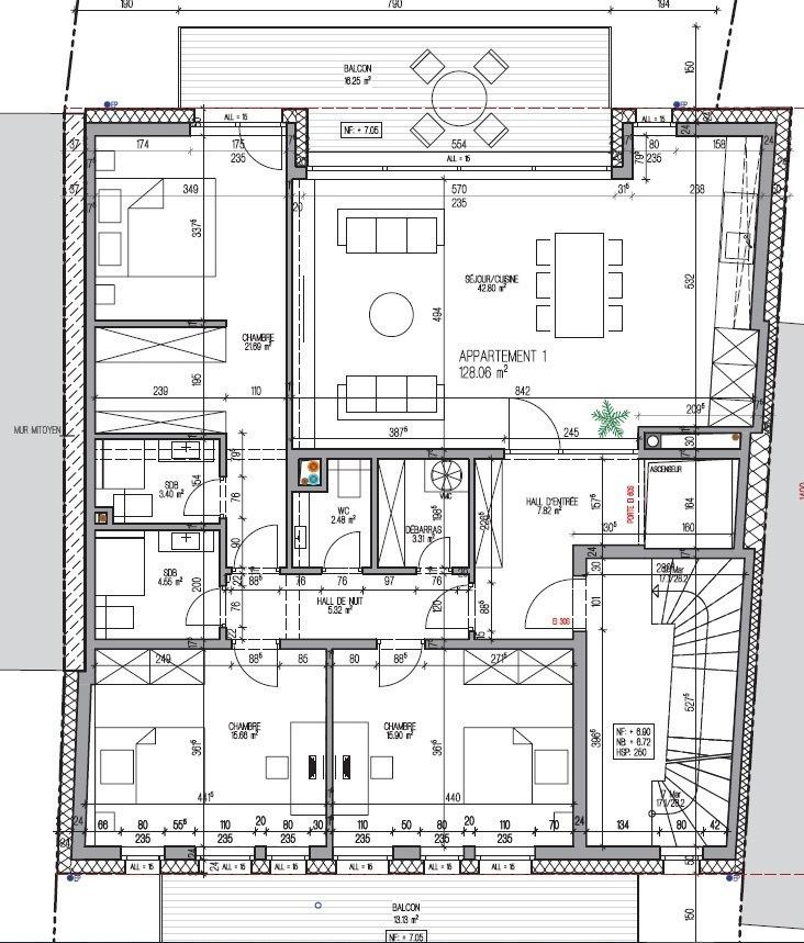 acheter appartement 3 chambres 142.88 m² kayl photo 4
