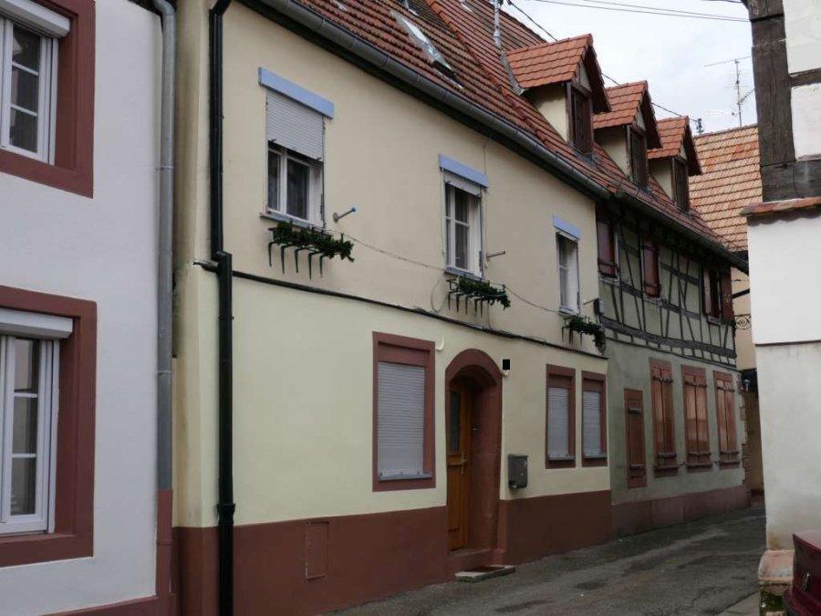 Maison à vendre F3 à Wissembourg