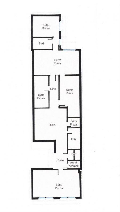 büro mieten 7 zimmer 142 m² prüm foto 7