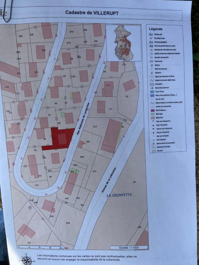 Terrain constructible à vendre à Villerupt