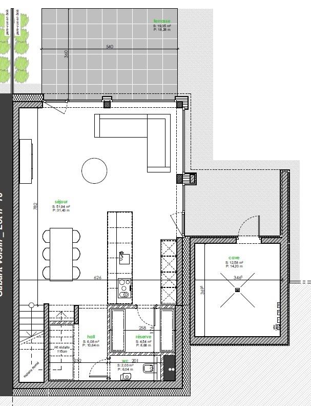 acheter maison jumelée 3 chambres 147 m² berbourg photo 4