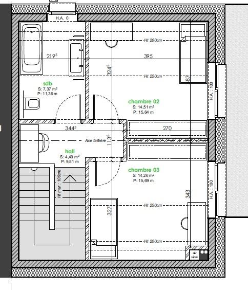acheter maison jumelée 3 chambres 147 m² berbourg photo 6