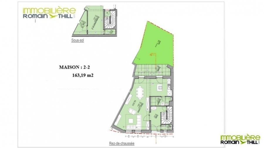acheter maison individuelle 3 chambres 163.19 m² niederkorn photo 2