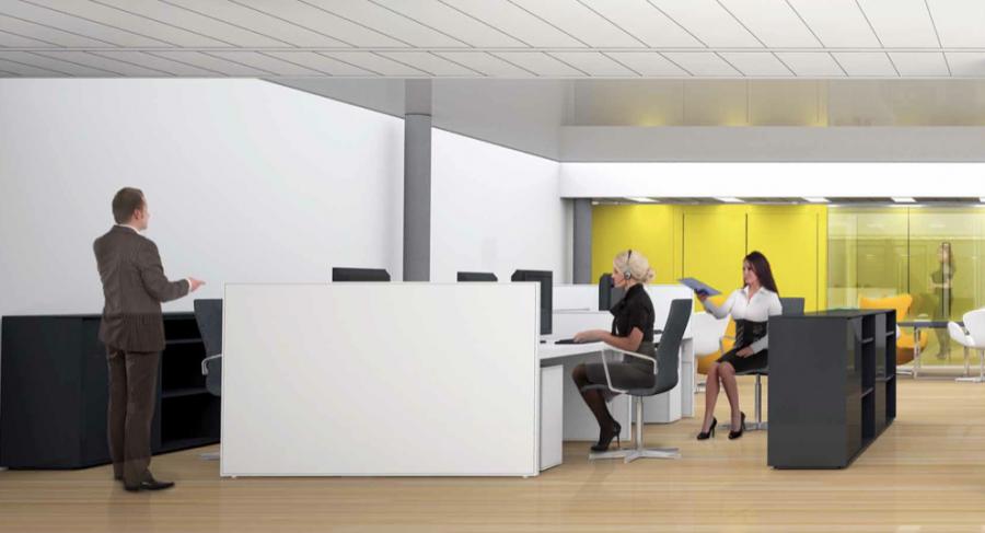 louer bureau 0 chambre 258 m² leudelange photo 2